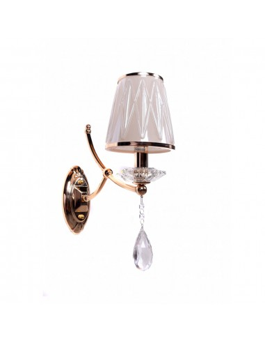Kinkiet Dominni gold Lumina Deco